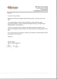 Sample Recommendation Reference Letter Teacher For Of The Year