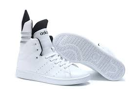 adidas shoes high tops white. 2017 adidas originals lotus high women casual shoes white black tops