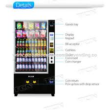 Vending Machine Bill Acceptor Custom China Vending Machine From Changde Manufacturer Hunan TCN Vending