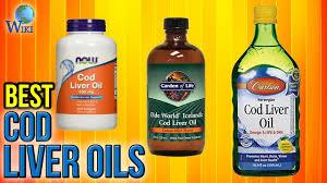 6 best cod liver oils 2017
