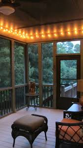 market lights screened porch makeover small changes new look