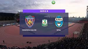 FIFA 21 Serie B • Cosenza Vs Spal • (21° Giornata) - YouTube