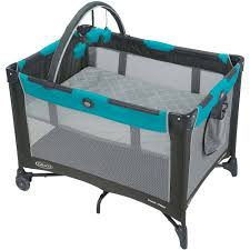 graco pack 'n play onthego playard baby play yard finch