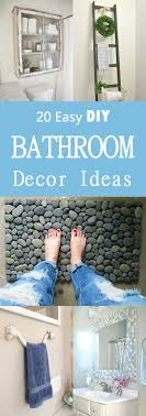 Diy Bathroom Decor 20 Easy Diy Bathroom Decor Ideas