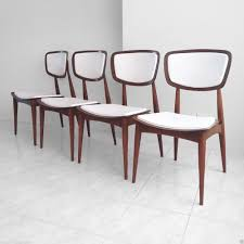diner table retro 4 mid century danish modern walnut bentwood sculptural dining chairs rare danishmodern daystrom