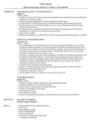 Anesthesiologist Resume Anesthesiologist Resume Samples Velvet Jobs 1