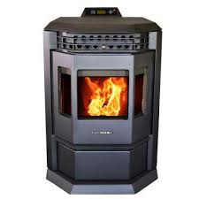 epa certified pellet stove with 55 lbs hopper and auto