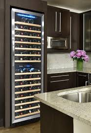 Element by Vinotemp Kitchen with 155 Bottle Dual Zone Wine Cooler  contemporary-kitchen
