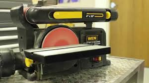 craftsman belt and disc sander. how to change the belt on a disc sander craftsman and