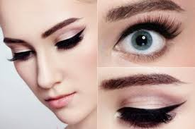 you can also apply subtle eyeshadow to make your glimpse more accentuated cat eye makeup
