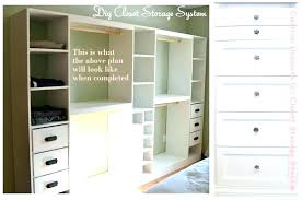 diy built in closet storage custom closet plans closet shelves and rods stylish creative of custom diy built in closet storage