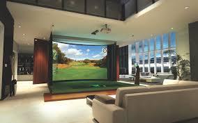 Golf Simulator Lighting Golf Simulation