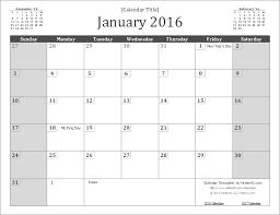 July 2015 To June 2016 Calendar Template 2015 Calendar 16 Free