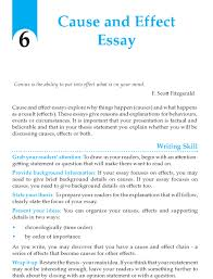 cause effect essay topics pdf assignment how to write better  part i from paragraph to essay leidykla sviesa