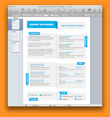 Resume Templates For Mac Pages Free Bio Letter Format