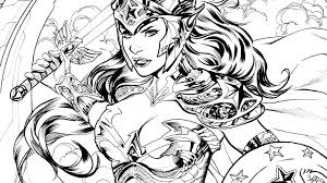 wonder woman coloring book colouring in snazzy dc draw beautiful of comics pages gallery