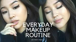 this is how i put on makeup vegan free makeup tutorial