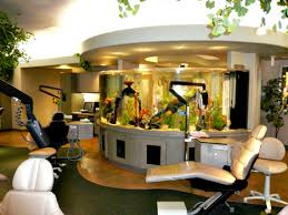 fish tank in a dental office can improve your overall experience with the dentist aquarium office