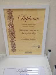 диплом косметолога Лицензии и сертификаты Студия красоты Мона  диплом косметолога