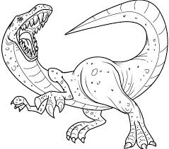 Small Picture Printable Dinosaur Coloring Pages Best Coloring Pages
