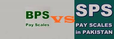 Bps Scale Chart 2018 Difference Between Bps And Sps In Pakistan