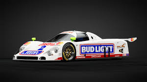 Bud Light Car Decal Imsa Gtp Bud Light Jaguar Car Livery By Jdm_typezero