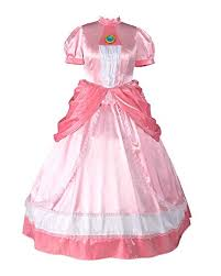Disguise Size Chart Miccostumes Womens Plus Size Princess Peach Cosplay Costume Dress
