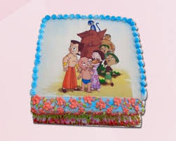 Order Online Chota Bheem Cake For Kids Delivery Cakeontimecom