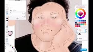 drawing ethan dolan