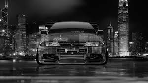 nissan skyline gtr r32 jdm crystal city car