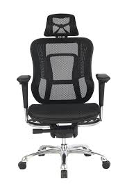 high back mesh office chair with leather effect headrest. viva office latest high back mesh chair, fashionable darth vader style multifunction office chair task with adjustable arms,headrest,back and seat- leather effect headrest d