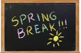 Image result for spring break cartoon