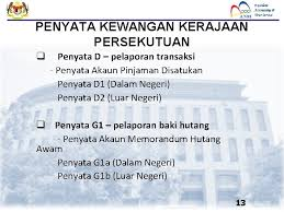 Hutang dalam negeri kerajaan persekutuan. Jabatan Akauntan Negara Malaysia Pengurusan Hutang Persekutuan Disediakan