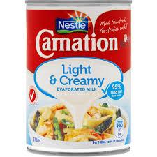 Carnation Light And Creamy Recipes Carnation Evaporated Milk Light Creamy 375ml