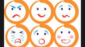 las emociones con divertidas caritas