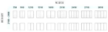French Size Chart Standard French Door Size French Door Dimensions