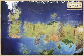 the known world of ice and fire x  mapporn