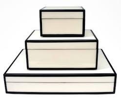 Stacking Boxes Decorative Decorative Accessory Boxes Spectrum Organizing 2