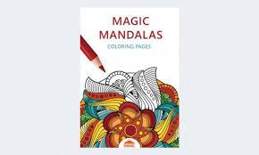 magic mandalas coloring pages