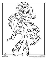 My Little Pony Equestria Girls Coloring Pages Inspirational
