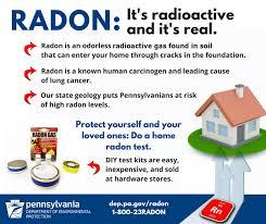 Radon Level Chart Radon Division