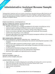 Sample Executive Assistant Resume Inspiration Executive Assistant Resumes Colbroco