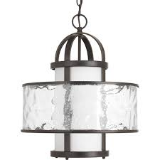 Bay Court Collection Lighting Bay Court Collection One Light Large Foyer Pendant P5310