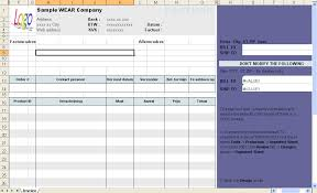 Invoice Template Excel 2003 Hotel Invoice Template Download