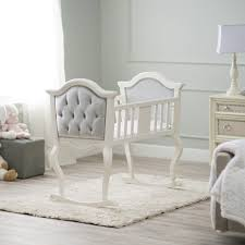 Bedroom Classic Collection Ed Bauer Rocking Bassinet — Rebecca