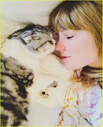 Taylor Swift & Her Cat Meredith Wish Fans a 'Purry Christmas': Photo  4202132 | 2018 Christmas, Celebrity Pets, Taylor Swift Pictures | Just Jared