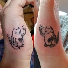 парное тату потрясающие идеи для влюбленных и подруг