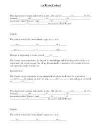 Vehicle Lease Agreement Sample Free Printable Lease Agreement Template Room Rental Agreement