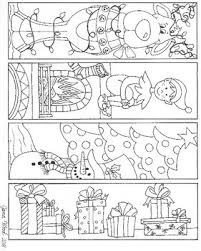 Free printable holiday bookmarks to color this holiday season! Christmas Bookmarks To Color Set 1 By Jana Wood Tpt