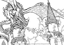 Real Dragon Coloring Pages Pictures Of Real Dragon Coloring Pages